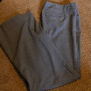 Boot cut Express Trousers.